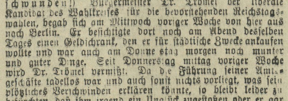 15.02.1911 Stralsundische Zeitung