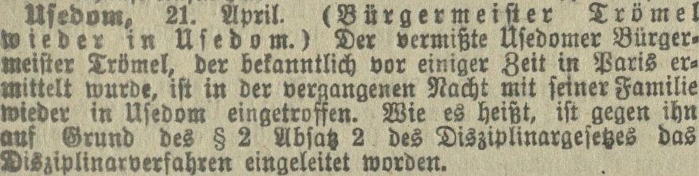 23.04.1911 Stralsundische Zeitung