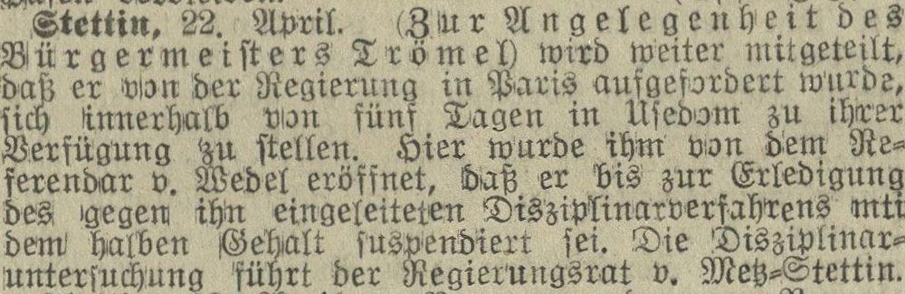 25.04.1911 Stralsundische Zeitung