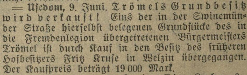 10.06.1913 Greifswalder Zeitung