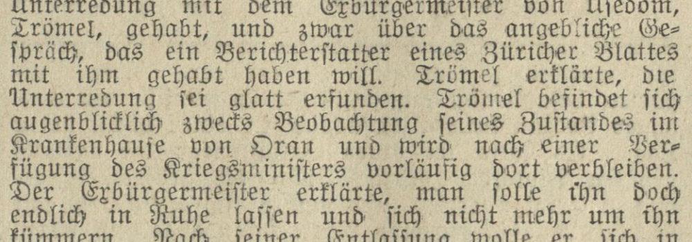 29.06.1913 Stralsundische Zeitung