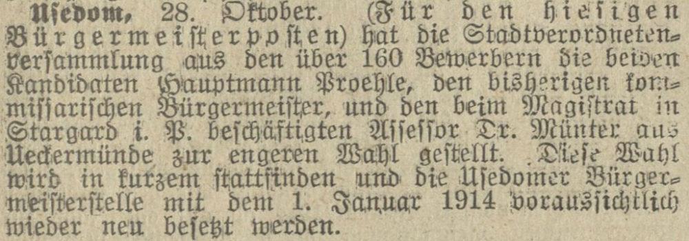30.10.1913 Stralsundische Zeitung