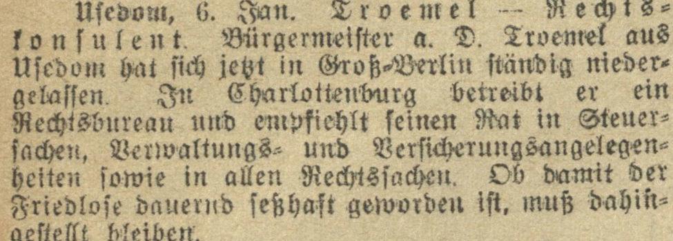 07.01.1915 Greifswalder Zeitung
