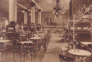Cafe Trömel - Grüner Saal und Lesezimmer