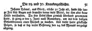 Johann Trömel, Göritz