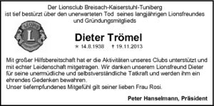 Dieter Trömel