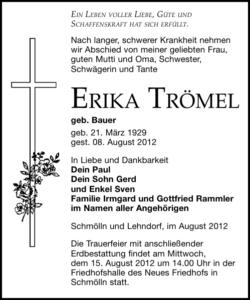Erika Trömel