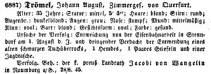 Allgemeiner Polizei-Anzeiger, Gotha, 1845