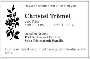 Christel Trömel