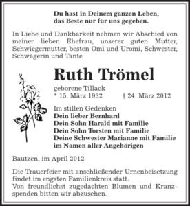 Ruth Trömel